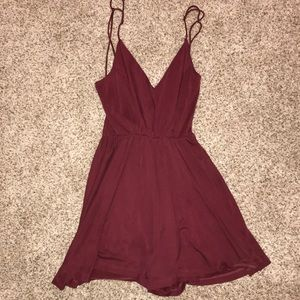Urban Outfitters Silence+noise purple romper